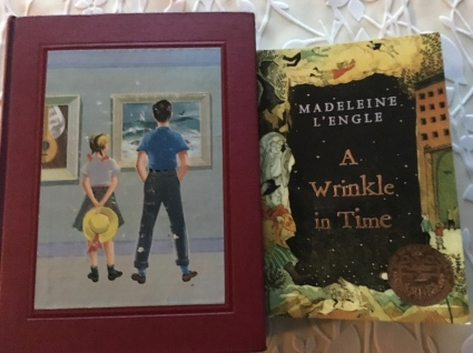 Good Children's literature is for adults too. Book 1: Book 6: Art and Music from The Bookshelf for Boys and Girls. Book 2: A Wrinkle in Time. Great reads!